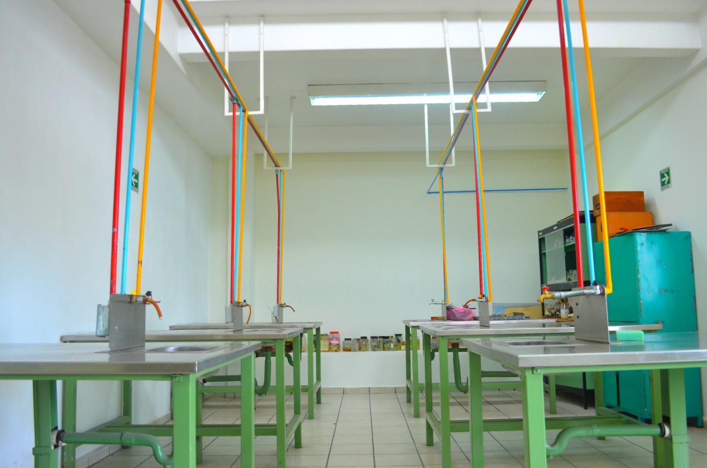 Laboratorio de Biología.