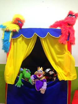 Teatro de marionetas.