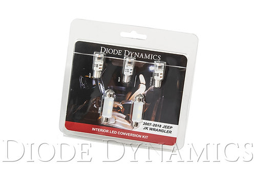 Wrangler JK 4dr Interior Kit Stage 1 Cool White