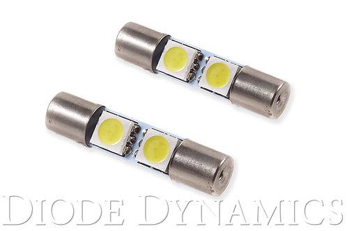 28mm SMF2 LED Bulb Green Set of 4