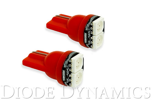 194 LED Bulb SMD2 LED Red Pair