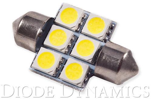 31mm SMF6 LED Bulb Amber Single