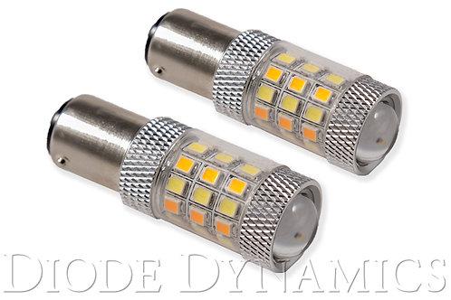 1157 LED Bulb HP24 Dual-Color LED Cool White Pair