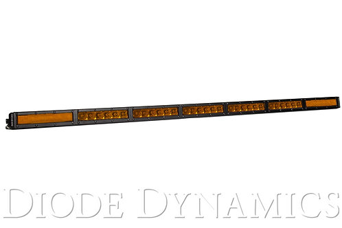 42 Inch LED Light Bar  Single Row Straight Amber Combo Each Stage Series