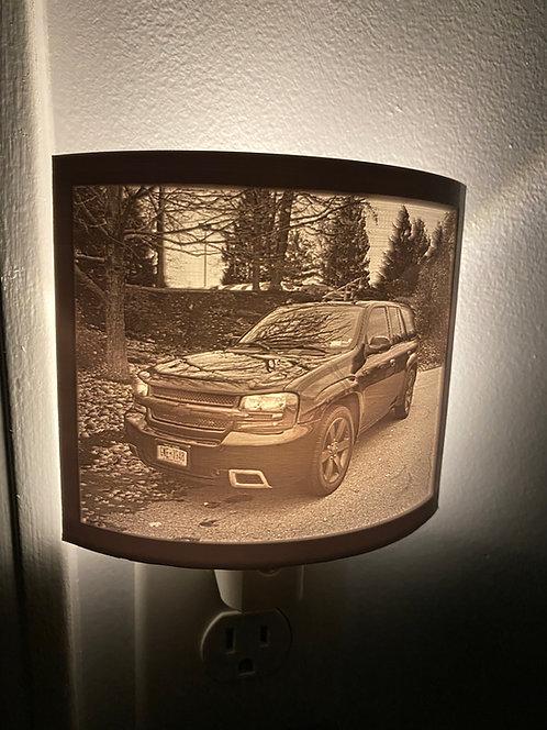 3D Printed Lithophane Nightlight