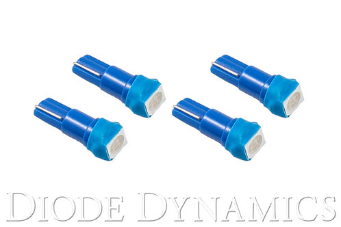 74 SMD1 LED Blue Set of 4