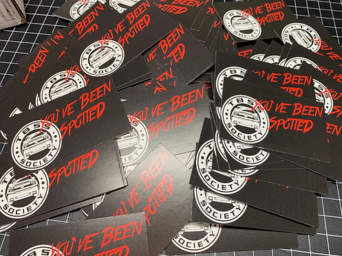 TBSS Society Spotted Cards
