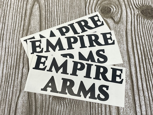 Empire Arms Decal