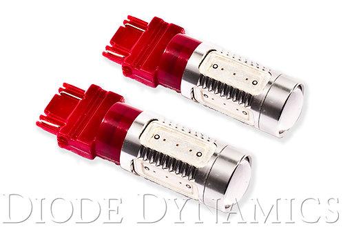 3157 LED Bulb HP11 LED Red Pair