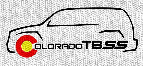 Colorado TBSS Decal