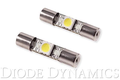 28mm SMF1 LED Bulb Cool White Pair