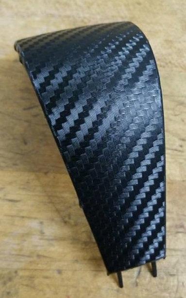 Carbon Fiber Overlay for TBSS Shifter