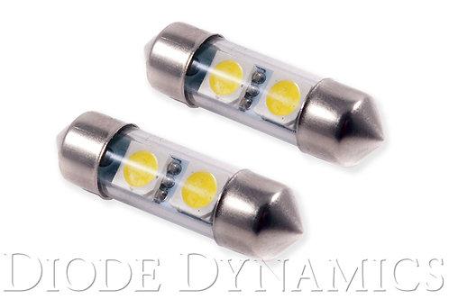 31mm SMF2 LED Bulb Red Pair