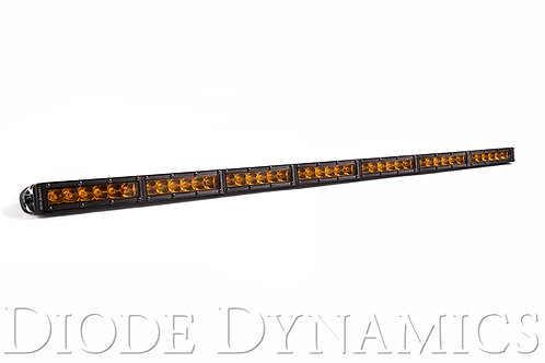 42 Inch LED Light Bar  Single Row Straight Amber Driving Each Stage Series