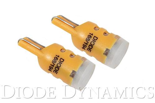 194 LED Bulb HP5 LED Amber Short Pair