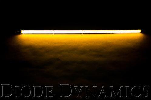 LED Strip Lights High Density SF Amber 12 Inch