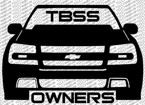 TBSS Owners Decal