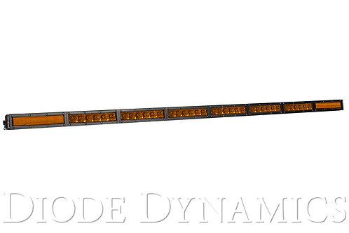 50 Inch LED Light Bar  Single Row Straight Amber Combo Each Stage Series