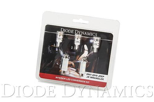 Wrangler JK 4dr Interior Kit Stage 2 Cool White
