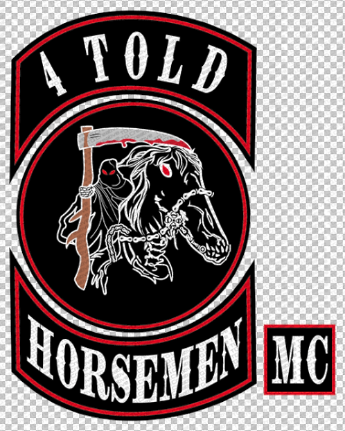 4 Told Horseman Sticker