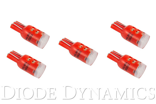 194 LED Bulb HP5 Red (five)