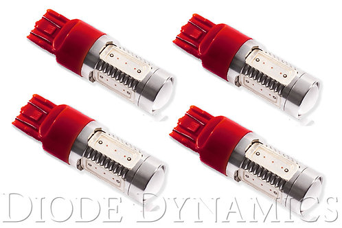 7443 LED Bulb HP11 LED Red Set of 4