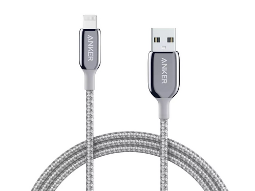 Anker 6' PowerLine+ III Lightning to USB-A Cable - Silver