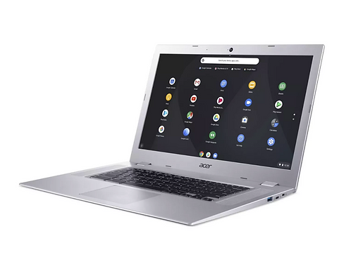 "Acer Chromebook 15 CB315-2HT-47WG Silver 15.6"" FHD IPS Touchscreen"