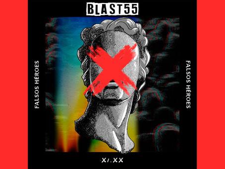 """Blast55 se cansó de los """"Falsos héroes"""" de la política en su nuevo sencillo"""