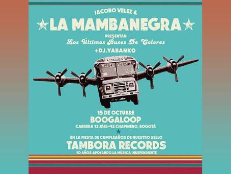 La Mambanegra celebra 10 años de Tambora Récords en Boogaloop del gato