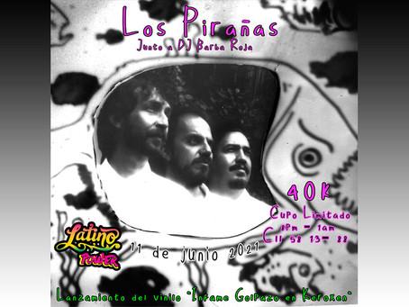 Los Pirañas presentan uno de sus discos más alocados en vivo