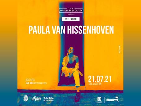 En el estudio: Paula van Hissenhoven regresa a los escenarios