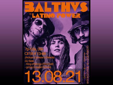 BALTHVS se prepara para su gira por México con un concierto en Latino Power