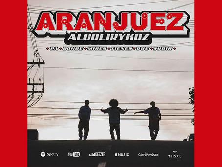 """Alcolyrikoz celebra su lugar de origen con """"Aranjuez"""", que da nombre a su próximo álbum"""