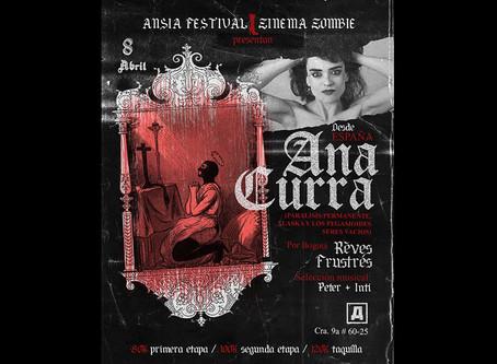 Ana Curra, leyenda de la movida madrileña, llega a Colombia