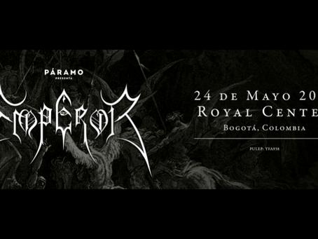 Emperor por primera vez en Colombia