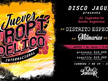 Disco Jaguar trae a Distrito Especial de vuelta a la Bogotá