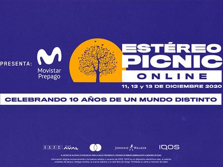 Festival Estéreo Picnic Online: reviviremos la magia de una década de música en vivo
