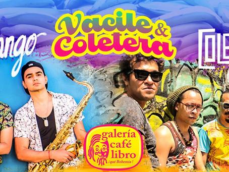Vacile y coletera, Barranquilla se toma Galería Café Libro
