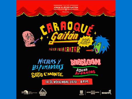 Llorona Records y el Teatro Jorge Eliécer Gaitán se unen para el Caraoqué Gaitán