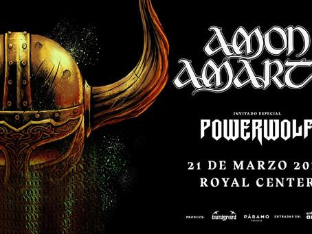Desde Tumba, Amon Amarth regresa a Colombia junto a Powerwolf