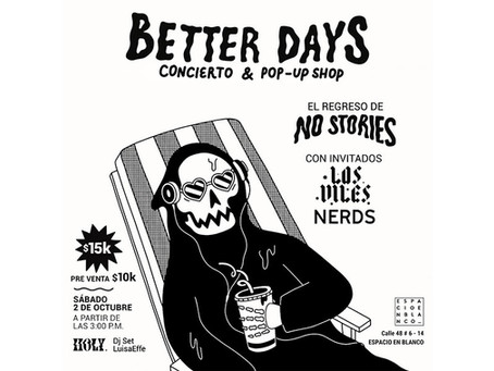 No Stories celebra un año de su álbum debut con bandas amigas