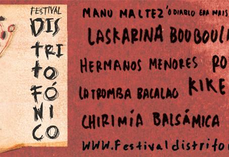 Bienvenida otra edición del Festival Distritofónico