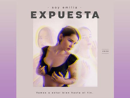 """Soy Emilia presenta su íntimo EP, """"Expuesta"""""""