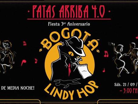 Lindy Hop celebra tres años de baile swing en Bogotá