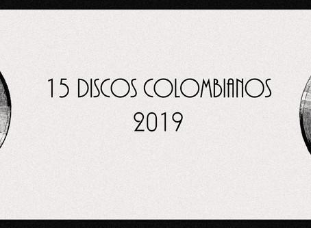 15 discos nacionales del 2019