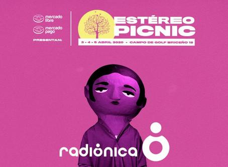 Radiónica estará presente en el Estéreo Picnic 2020 con su propio escenario de talento independiente