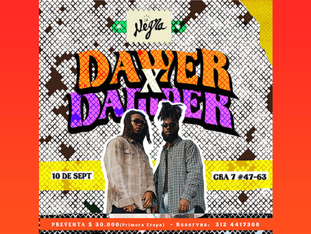 Regresan las noches de 'La Negra' con un show de Dawer x Damper