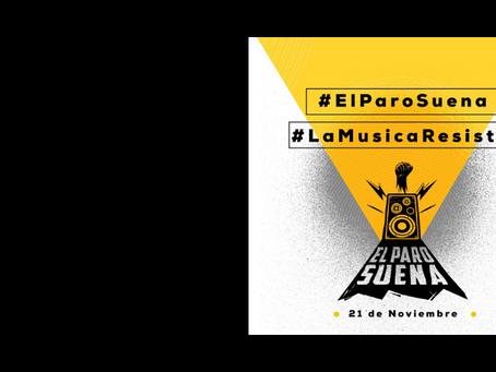 El paro suena, la iniciativa de músicos nacionales por la movilización pacífica