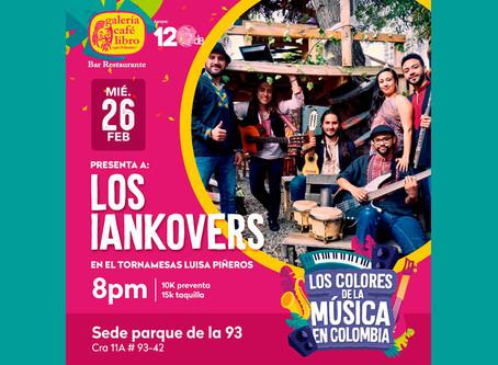 Los colores de la música presenta: Los Iankovers